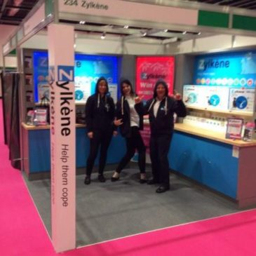 Vetoquinol choose CES to manufacture and install their indoor shell scheme stand at events across the UK.