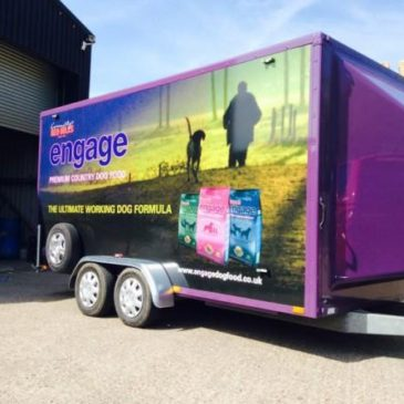 Engage Petfoods New CES Boxer exhibition trailer