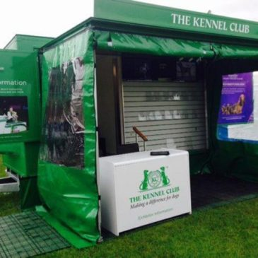 Kennel Club show support trailer