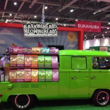 4 stands for the Discover Dogs Show at Excel London