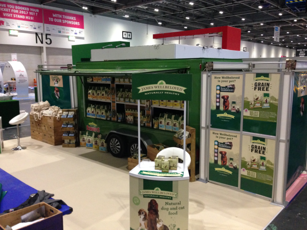 Exhibition Stand Builders London : Contract exhibition services deliver and build stands to