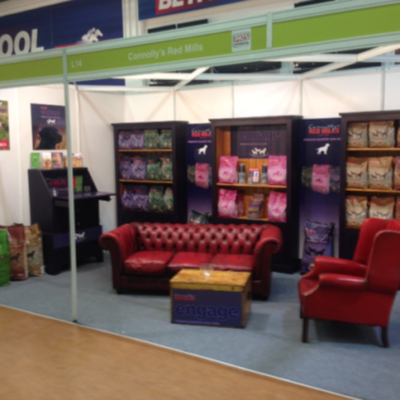 Contract Exhibition Services with Redmills at the PATS trade show