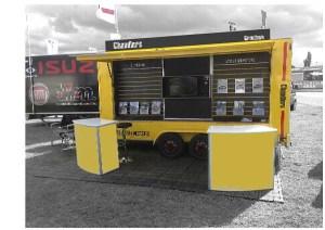 Exhibition trailer design