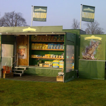 Exhibition trailers that can attend every style of event