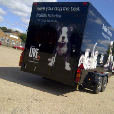 Our Boxer range of exhibition trailers create public interest before they even get to the event