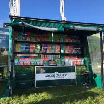 Arden Grange display the full range on there Boxer range exhibition trailer