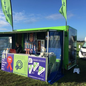 Awardboard attends Driffield with there mobile workshop and display trailer