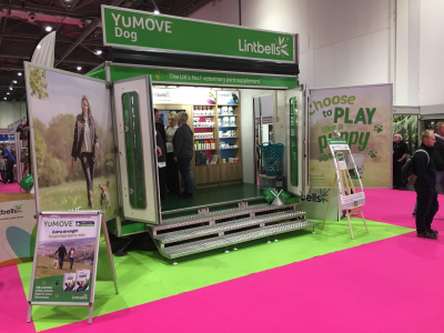 Lintbells get new interior look for unit at Discover dogs