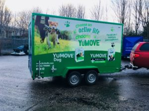 New 3.6 Mtr exhibition trailer for Lintbells