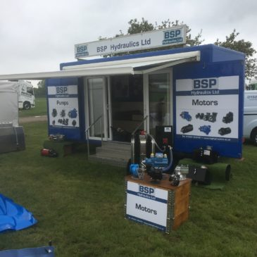 BSP Hydraulics attend Truck Fest with Contract Exhibition Services
