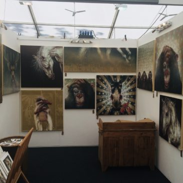 Amanda Stratford Art at Burghley Horse Trials