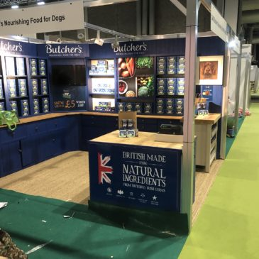 Building Exhibition Stands from recycled furniture