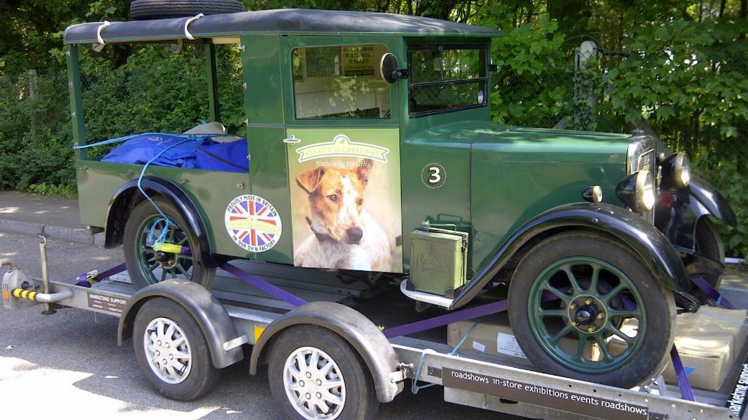 refurbished vintage vehicles exhibitions