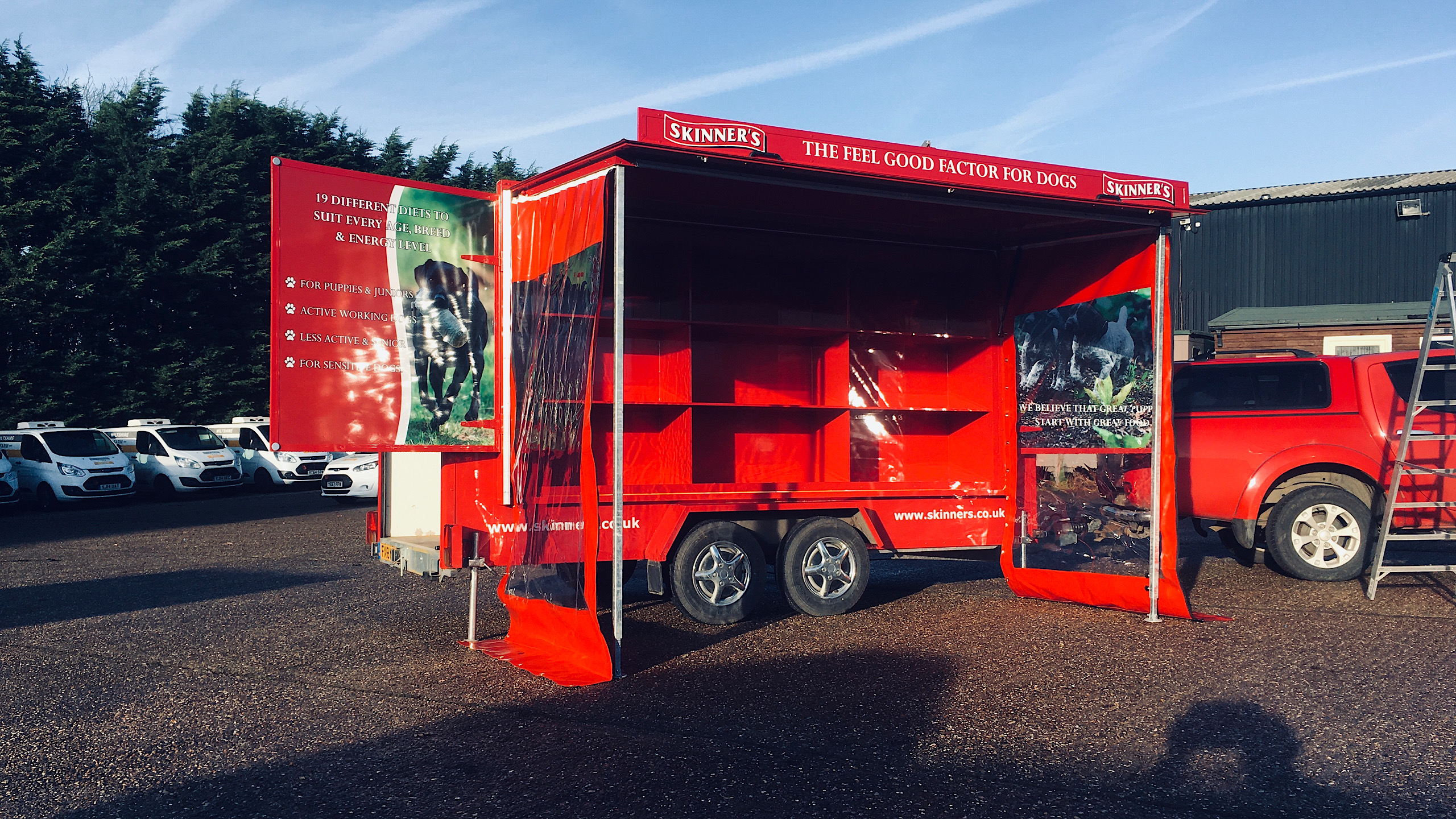 event marketing roadshow trailers
