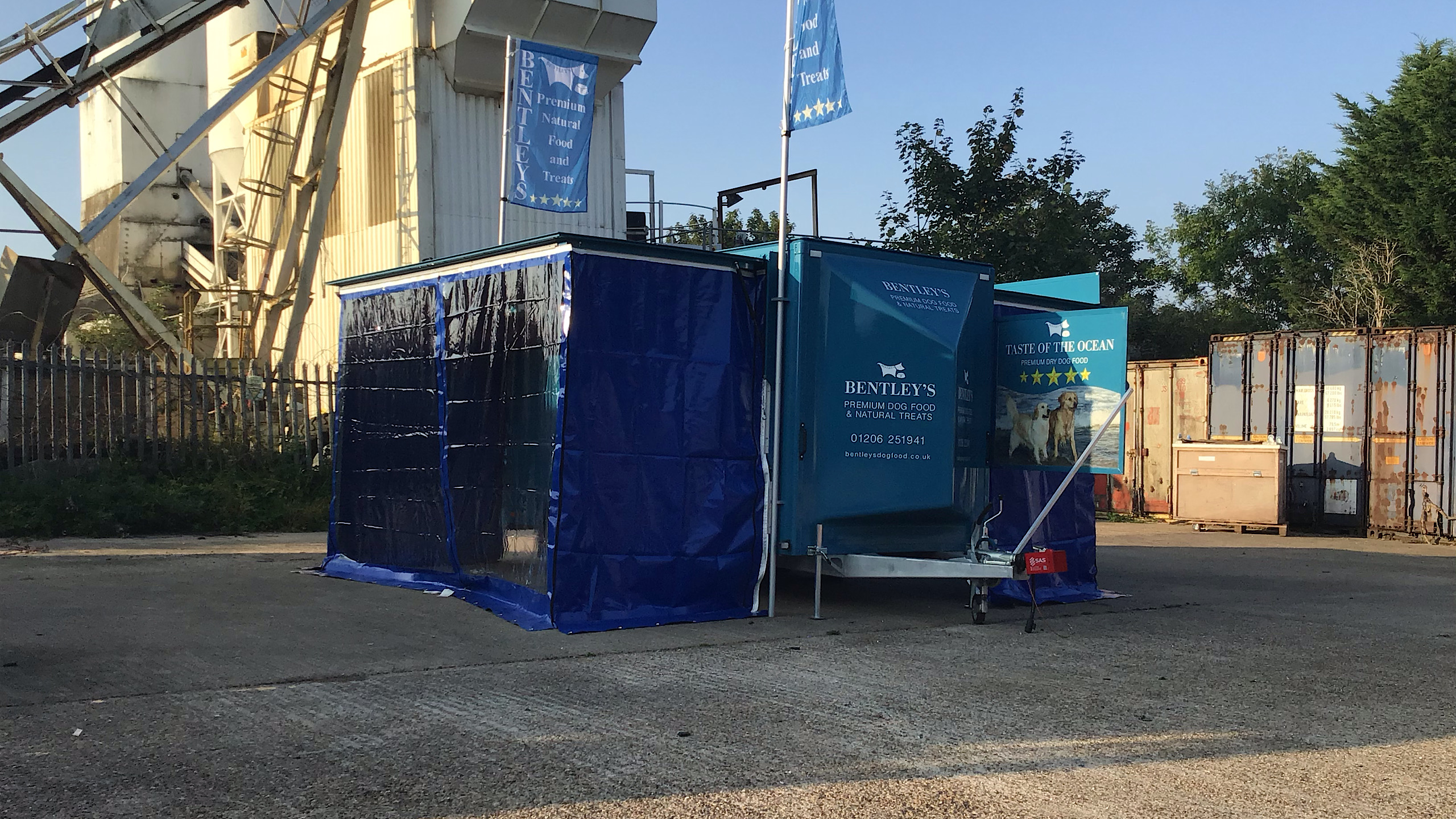 exhibition trailers marketing events mobile